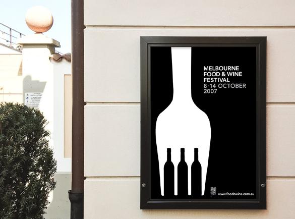 Zwart Wit Illusie | 5 Geweldige Voorbeelden van Poster Designs