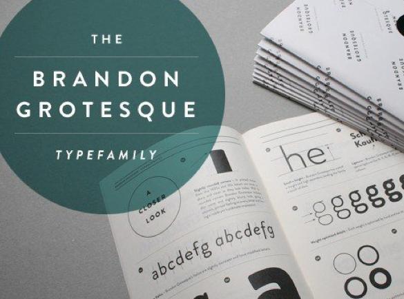 Brandon Grotesque | De Beste Fonts om te Gebruiken voor Posters