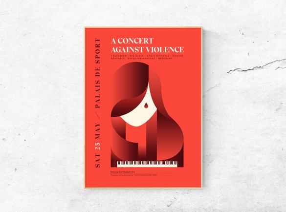 Geometrische Schoonheid | 5 Geweldige Voorbeelden van Poster Designs