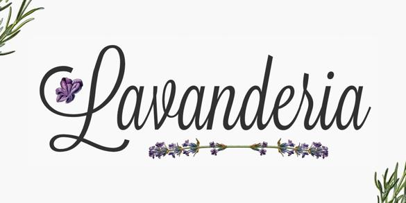 Lavanderia | De Beste Fonts om te Gebruiken voor Posters