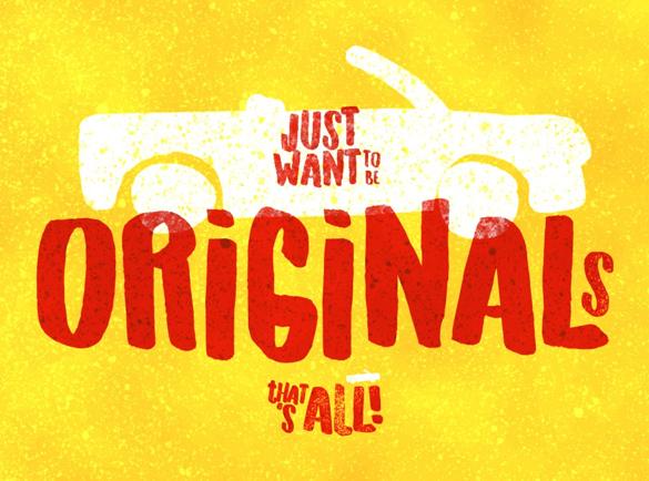 Originals | De Beste Fonts om te Gebruiken voor Posters