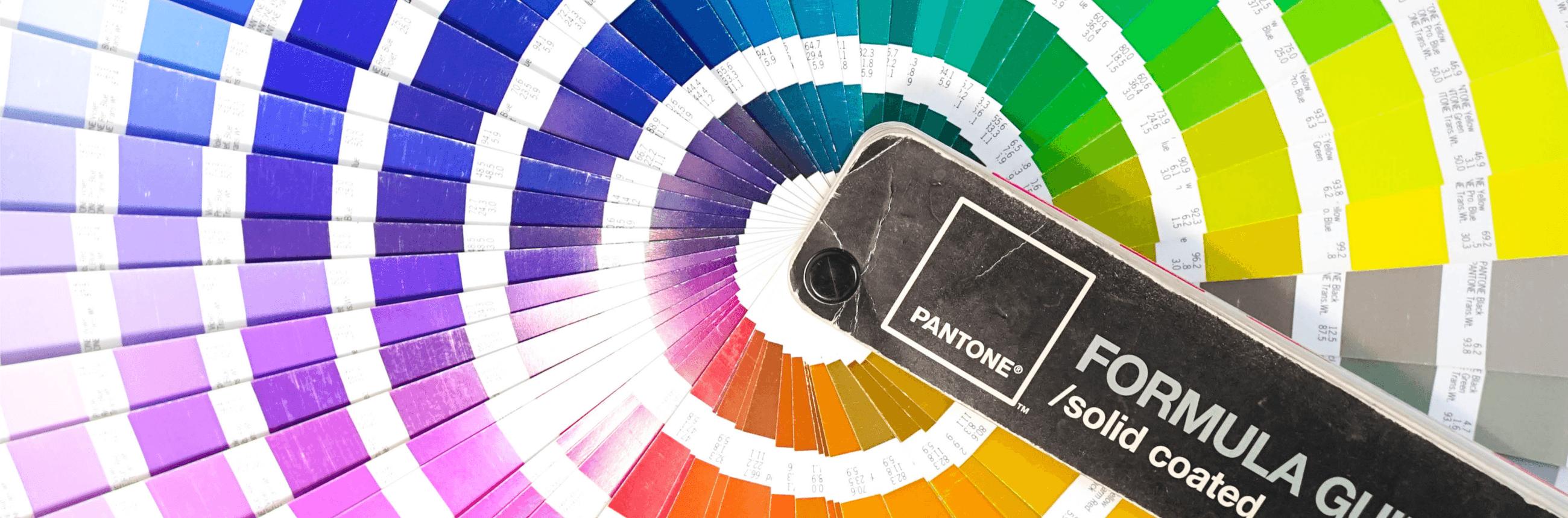 Kleurverschillen RGB, CMYK & PMS