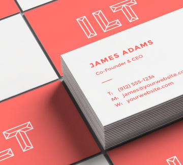 Businesscard block 2
